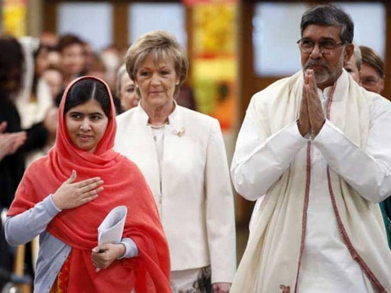 Malala & Satyarthi