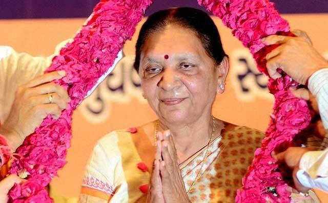 CM Anandiben Patel