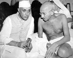 Nehru & Gandhi ji