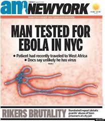 ebola in newyark