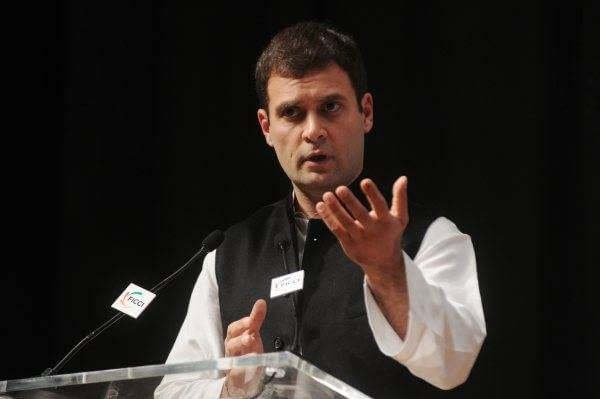 Rahul Gandhi addresses  Indian Chambers of Commerce and Industry