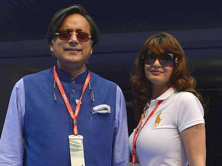 ShashiTharoor-Sunanda