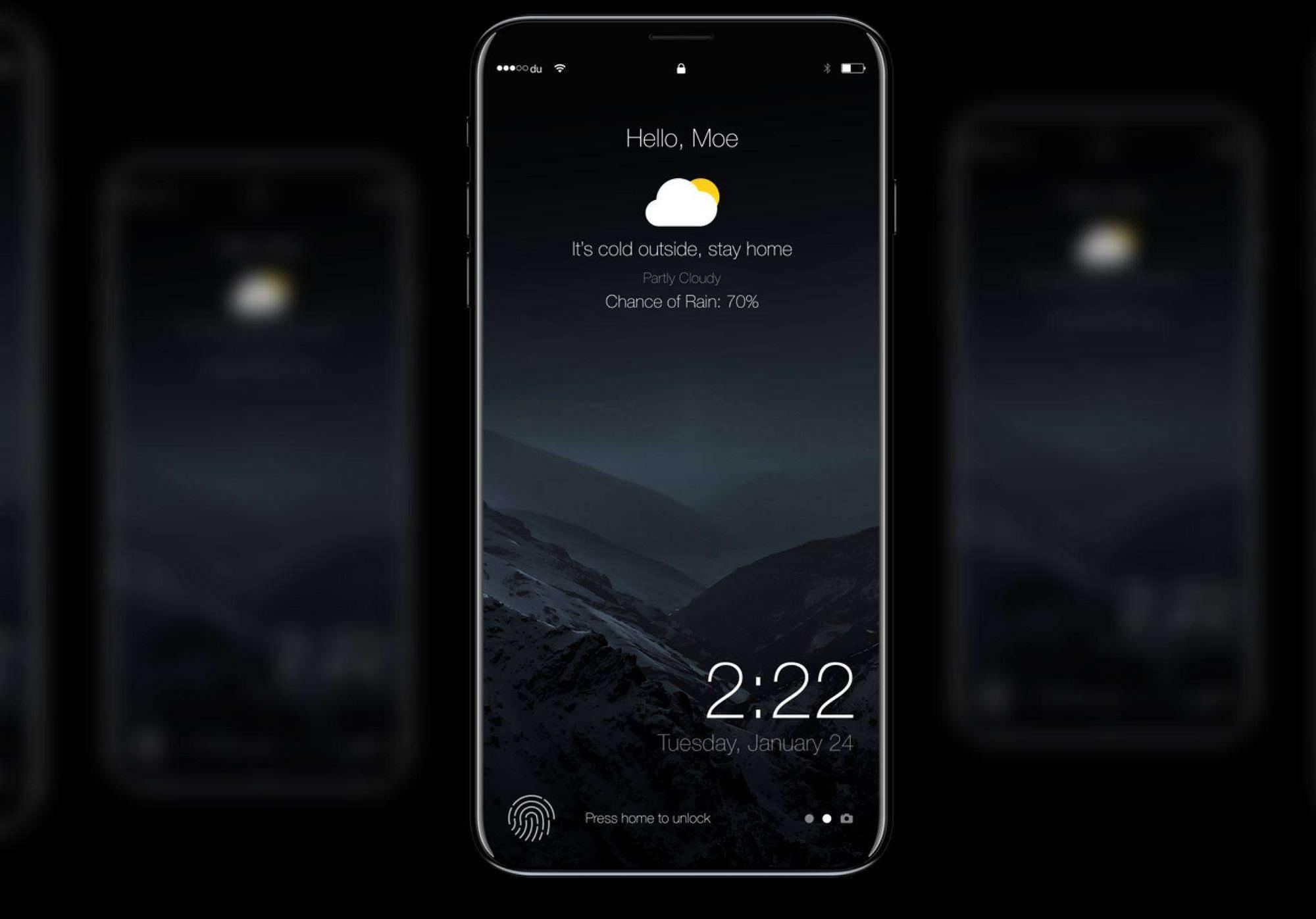 आईफोन 8 की तस्वीरें लीक, आ सकता है फ्रंट और रियर डुअल कैमरा