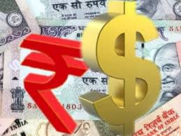 Rupee and dollar
