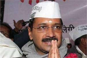 Kejriwal Oath as CM