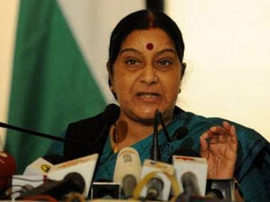 Foreign Minister Sushma